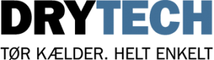 Drytech logo - få tør kælder med elektroosmose