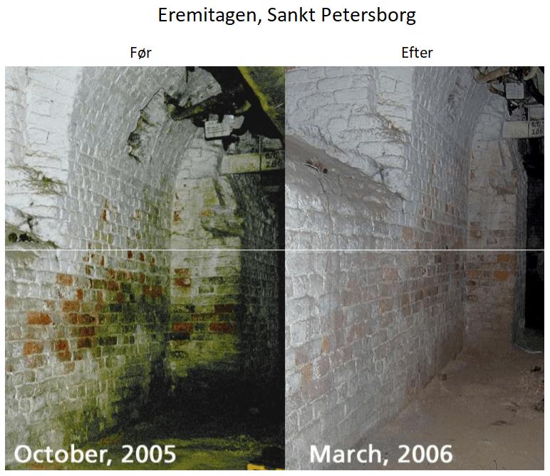 Eremitagen før og efter